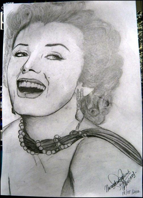 Marilyn Monroe by asyikin